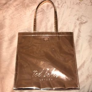 Ted Baker Rose Gold Mirror Tote